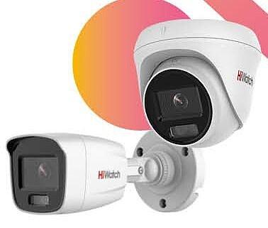 IP камеры HiWatch с технологией ColorVu